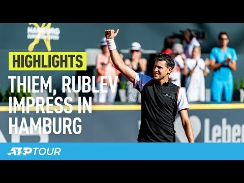 Thiem, Basilashvili Make Strides In Hamburg 2019 | HIGHLIGHTS | ATP