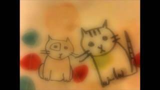 ゑでぃまぁこん「スロウな夢」(「残光の蟲」より) 背景の絵は札幌の画...
