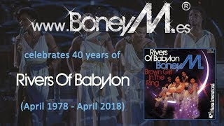 BONEY M. - Rivers Of Babylon (40th Anniversary)