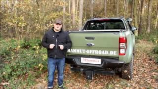Beste Laderaumabdeckung für Ford Ranger 2016 Wildtrak und Limited