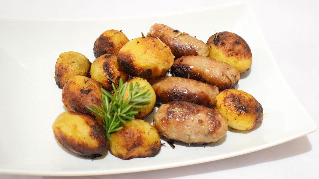 Patate novelle in padella con salsiccia ricetta contorno for Ricette con patate