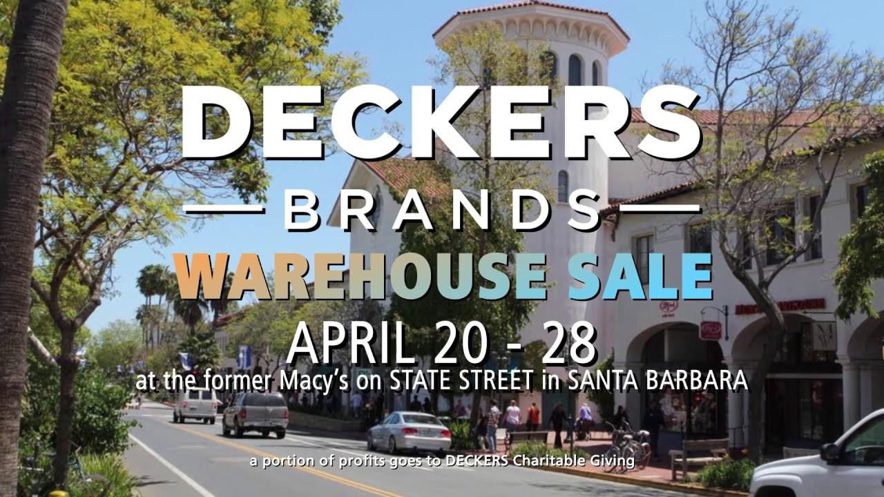 07b972f41 20190415 - Deckers Brand Showcase - Warehouse Sale - YouTube