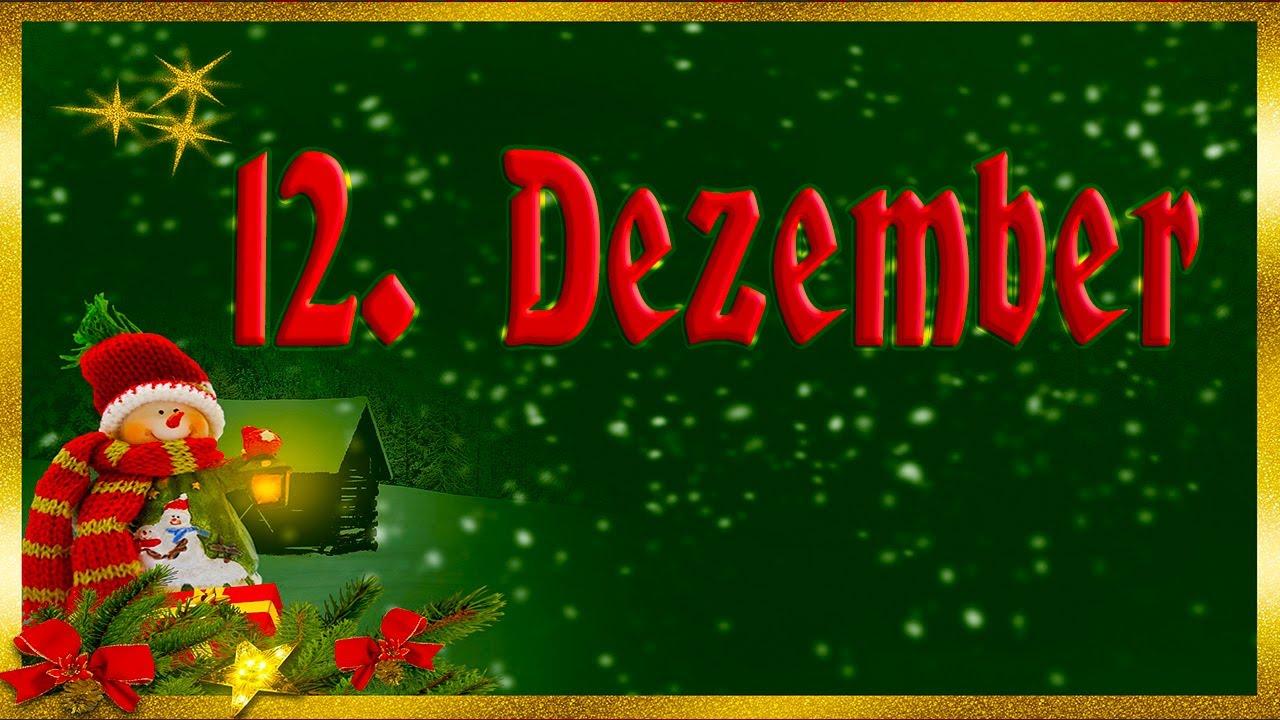 12 Dezember