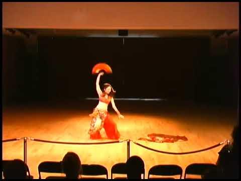 Sawako Ama Tribal Fusion Bellydance (Japanese Okagura dance)
