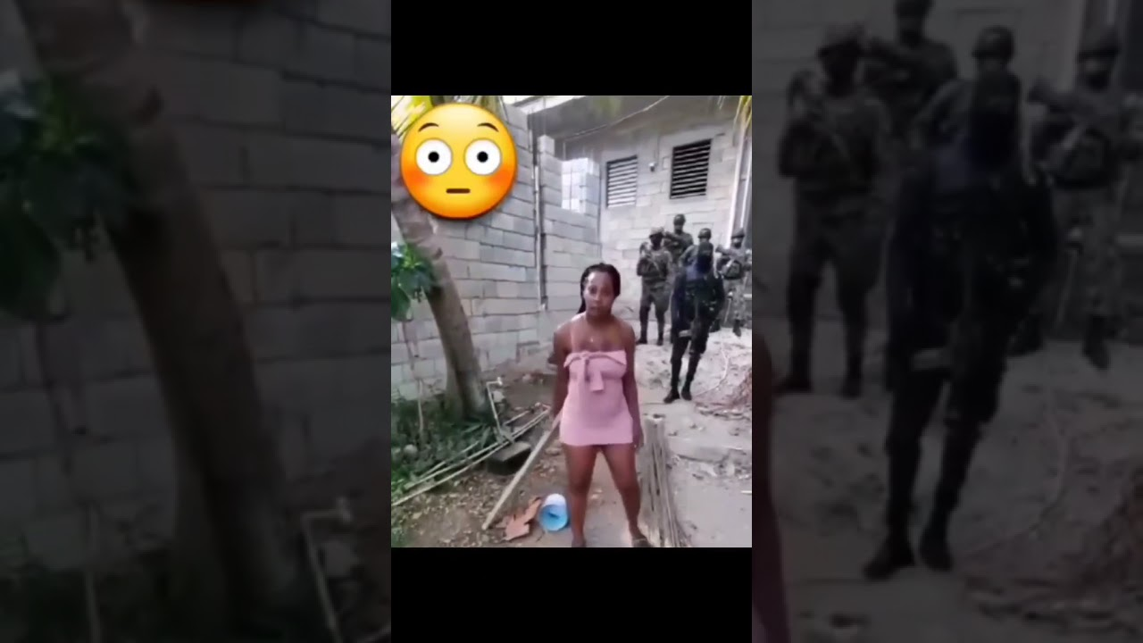 Download Police and woman fight in Jamaica