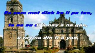 Ilocano Folk Song: Pamulinawen (Instrumental with On-screen Lyrics)