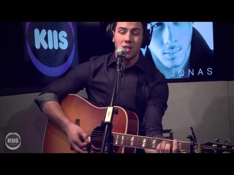 Nick Jonas Performs 'Jealous' [ACOUSTIC]
