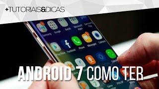CHEGA DE ANDROID ANTIGO! Com isso aqui você vai ter Android 7 e sempre o Android mais atual