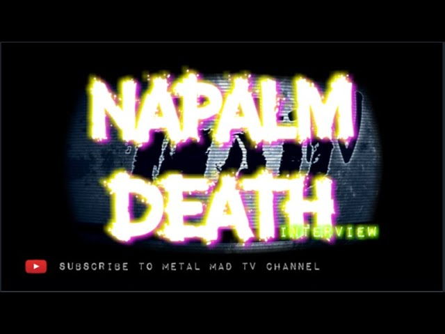 Interview Barney from NAPALM DEATH at Motocultor