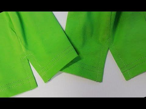 How To Sew a Slit in the sleeve, side of the blouse, pants leg. Jak Uszyć Rozpierdak