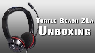 Turtle Beach ZLa Gaming Headset Unboxing (PC / Mac / Mobile)