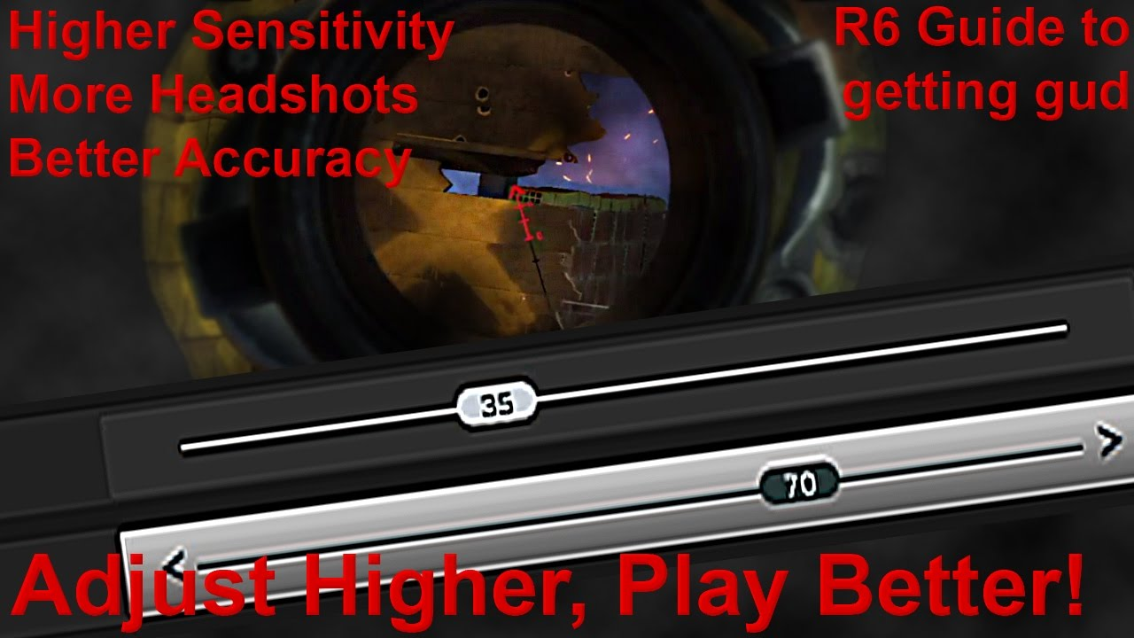 Rainbow Six Siege: Guide to Better Accuracy & Sensitivity