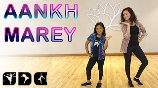 Easy Dance steps for aankh Marey song   Shipra's Dance Class