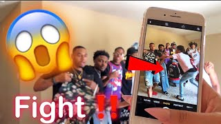 SELLING CHRIS & TRAY CLOTHES PRANK !!