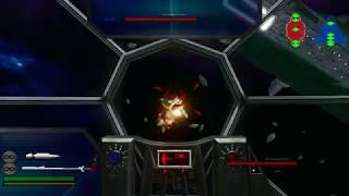 Star Wars: Battlefront II (2005) - Gameplay Space Fight - [HD]