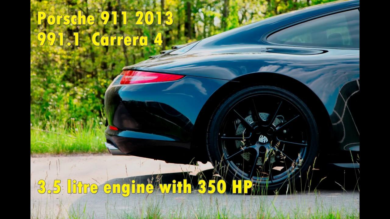 Porsche 911 Carrera 4 991 1 Acceleration 0 100 200 240