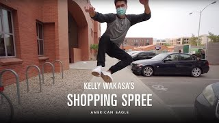 How Kelly Wakasa Breaks The Ice With An AE Shopping Spree | AExME | American Eagle