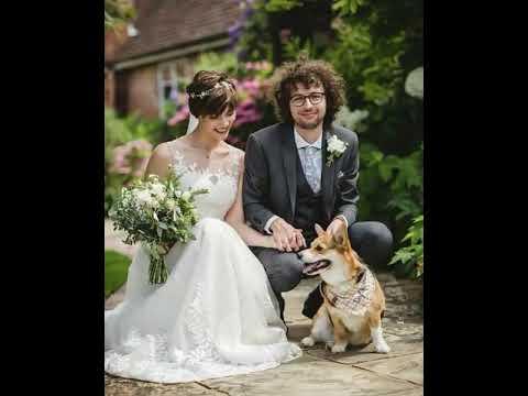 Stampy And Sqaisheys Wedding With Alyx The Dog 🐕 Luke