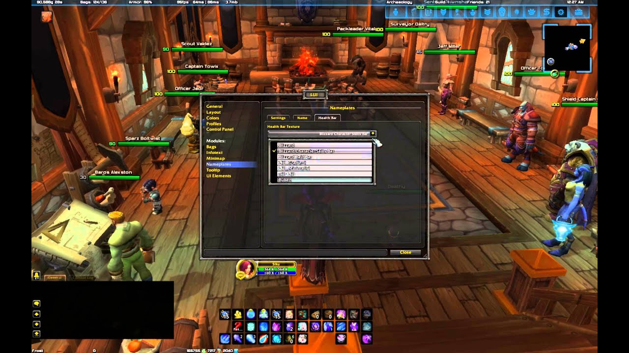 LUI - WoW User Interface