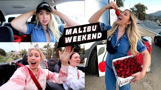I Finally Had A Fun Weekend *malibu + hanging with friends