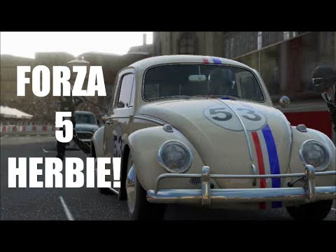 forza 5: Career mode journey: Stage 1 with Herbie the love bug! (VW BEETLE)