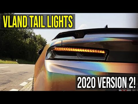 The NEW 2016-2018 Camaro VLAND Smoked Sequential Tail Lights - v2 | Overview + Install Guide
