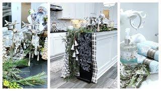 Christmas Home Tour Series: Kitchen, Bath Christmas Decor Ideas & EXCITING NEWS!