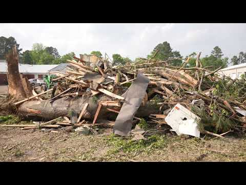 05-03-2021 Calhoun City, MS - Tornado Damaged Residential and Commercial Structures - Ground