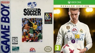Every FIFA Cover 1993-2018   25 Years   Nostalgia