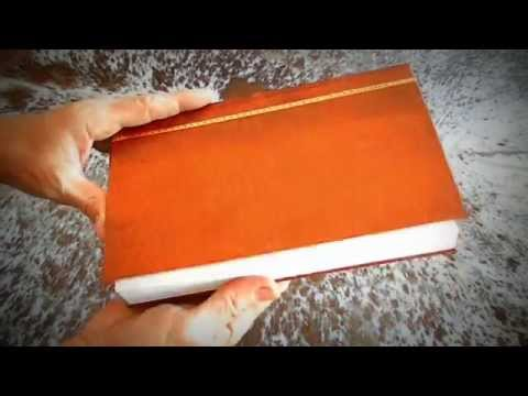 Handmade Sketch Book or Journal A5 (Artificial Leather)