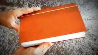 handmade sketch book or journal a5 artificial leather