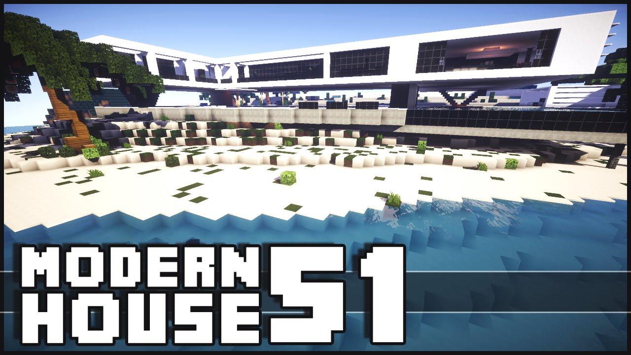 Minecraft Modern House 51 YouTube