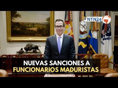 EEUU sanciona a cinco funcionarios venezolanos cercanos a Nicolás Maduro