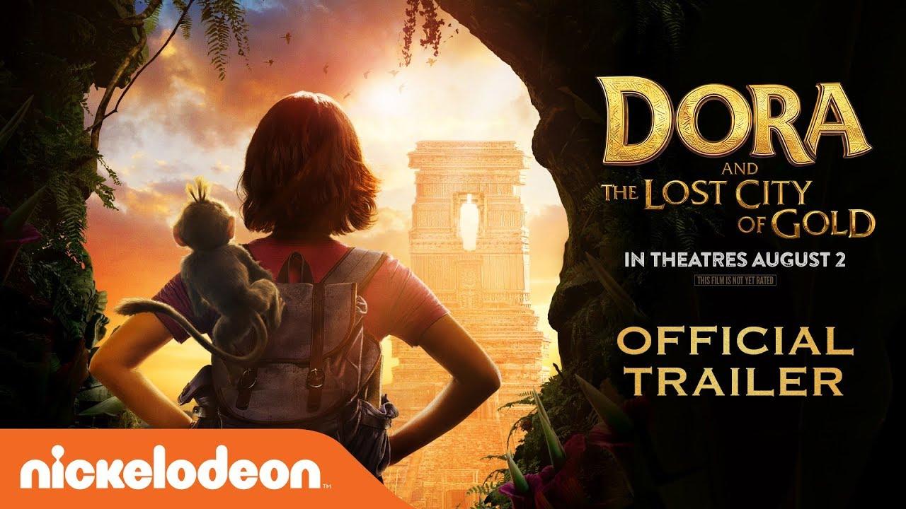 Dora The Lost City Of Gold Official Trailer Dora The Explorer Nick
