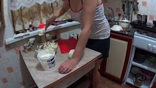 Вторая часть 31.12.2016 // Приготовление салатов к столу // Жизнь в деревне