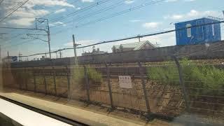 91.特急しなの15号長野行き,名古屋駅発車後車内放送