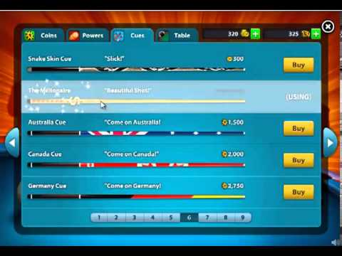 how to get lucky 8 cue in 8 ball pool