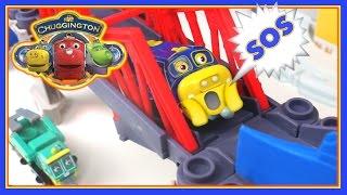 Поїзди для дітей поїзда відео історія Чаггінгтона Брюстер на зламаний міст - дитячі іграшки поїзда