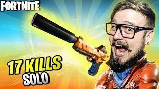 FORTNITE - VOCÊS PEDIRAM SOLO? TOMA SOLO! 17 KILLS