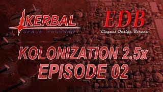 Kerbal Space Program - Kolonization 2.5x 02 - Minmus Station Start