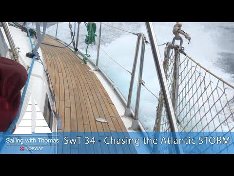 Chasing Atlantic storm sailing outside Grenada - SwT 34