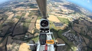 Aviad motoaliante test voli in termica 2
