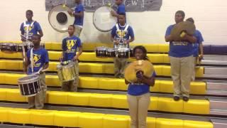 Manassas High Drumline Show mix