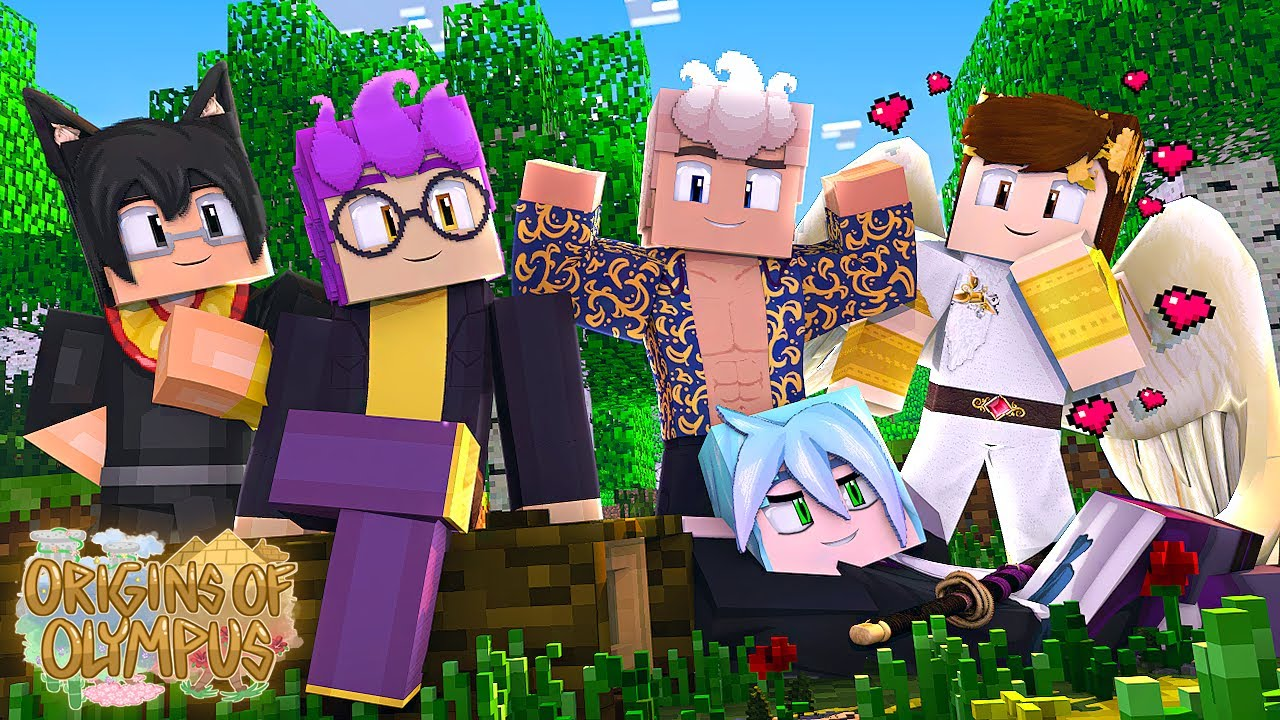 Download Minecraft Origins of Olympus - MY HOT NEW CRUSHES! #8 (Minecraft Percy Jackson Roleplay)