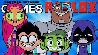TEEN TITANS GO! Roblox Adventurs - Cartoon Network Jeux