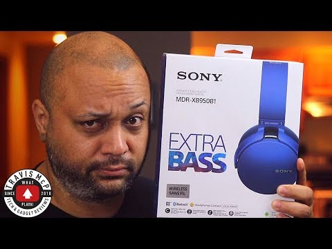 Sony MDR XB950b1 Unboxing And Review - 2018