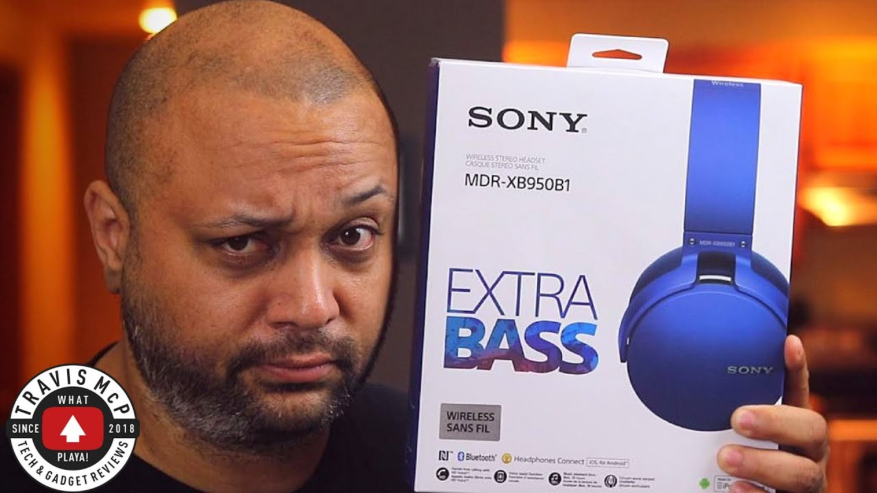Sony MDR XB950b1 Unboxing And Review – 2018