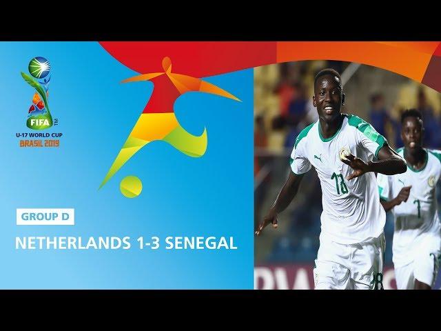 Netherlands v Senegal Highlights - FIFA U17 World Cup 2019 ™