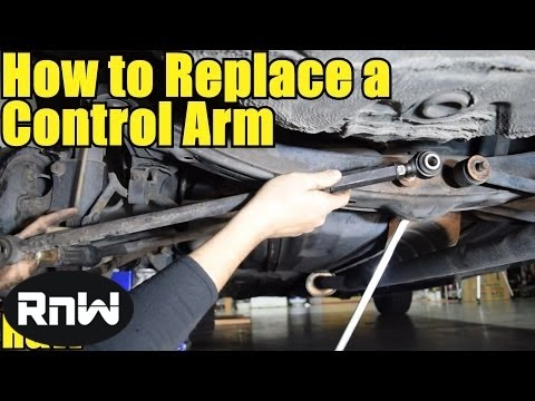 How to Remove and Replace a Control Arm - Also How to Remove Rusty Bolts