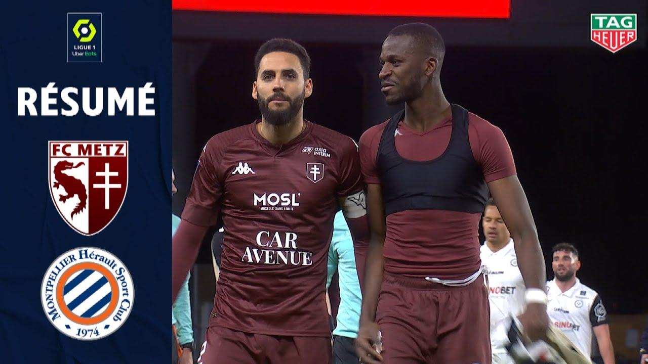FC METZ - MONTPELLIER HÉRAULT SC (1 - 1) - Résumé - (FCM - MHSC) / 2020/2021 - Ligue 1 Uber Eats